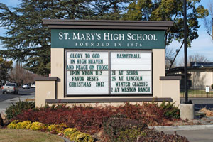 St. Mary's High School, Stockton, CA