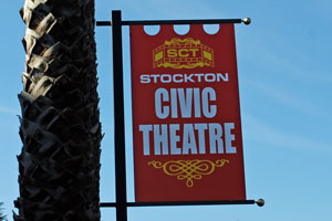 Stockton Civic Theatre, Stockton, CA