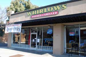 Whirlow's Tossed and Grilled, Stockton, CA