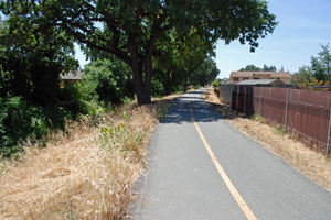 Dentoni Park Bike Trail, Stockton, CA