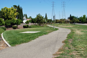 PG&E bike Trail in Weston Ranch, Stockton, CA